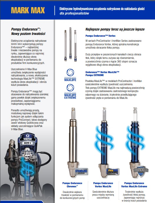 NOWOŚĆ! 17E647 / 16Y829 Graco Ultra Max II 1095 ProContractor Agregat malarski z systemem Blue Link-41464