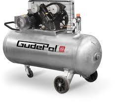 Tłokowy kompresor sprężonego powietrza GudePol HD 40/200-0