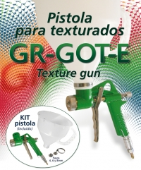 Pistolet do tapet natryskowych Green-Air 500 GR GOTE-0