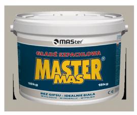 Gotowa gładź szpachlowa MASter MAS 25 kg-0