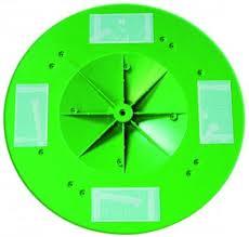 WYPRZEDAŻ! Eibenstock talerz 370 mm zielony-0