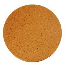 Gąbka pomarańczowa z rzepem miękka Rokamat 350 mm-0