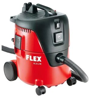 Flex VC 21 L MC 230/CEE Odkurzacz przemysłowy kopaktowy. Odkurzacz z manualnym systemem czyszczenia filtra, 20 L, klasa L-0