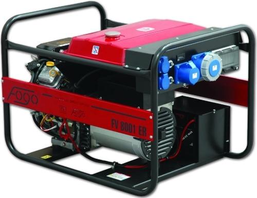 Fogo Agregat prądotwórczy z silnikiem B&S FV 8001 ER AVR-0