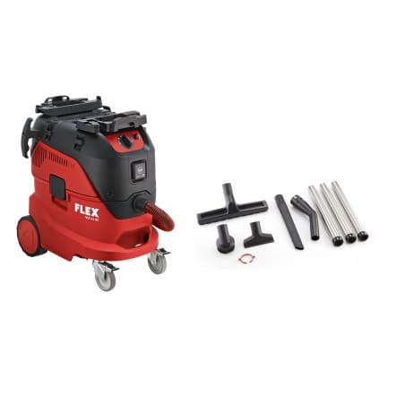 Flex 465.690 VCE 44 L AC SET 230/CE z wyposażeniem Odkurzacz z automatycznym systemem czyszczenia filtra, 42l, Klasa L, -0