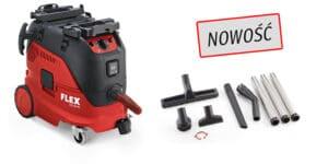 Flex 465.682 VCE 33 M AC SET 230/CE z wyposażenie Odkurzacz z automatycznym systemem czyszczenia filtra, 30l, Klasa M-0