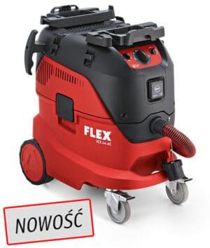 Flex 444.197, VCE 44 H AC 230/CE Odkurzacz z automatycznym systemem czyszczenia filtra, 42l, Klasa H-0