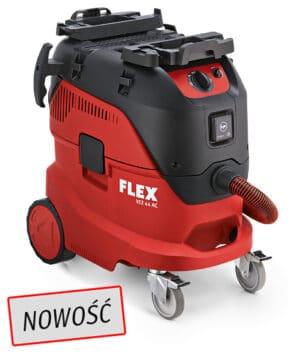 Flex 444.154, VCE 44 L AC 230/CE Odkurzacz z automatycznym systemem czyszczenia filtra, 42l, Klasa L-0