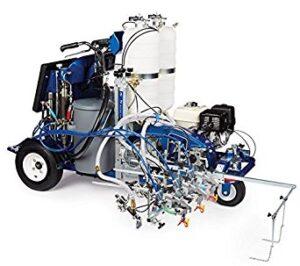 17H474 Graco LineLazer V 250SPS DC Reflective Malowarka drogowa 3-stanowisko automatyczne, 2 pojemniki-0