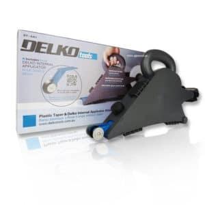DELKO SPOINER DELKOTOOLS plastikowy urządzenie do spoinowania łączeń płyt kartonowo-gipsowych -0
