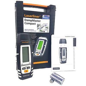 082.320A Laserliner DampMaster Compact Laserliner Profesjonalny miernik do sprawdzania wilgotności drewna i materiałów budowlanych metodą punktową za pomocą elektrod(pomiar rezystancyjny).-0