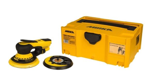 NOWOŚĆ! Mirka 6532011 skrzynka żółta transportowa do szlifierki oscylacyjnej CEROS / DEROS-37051