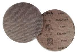 MEGA PROMOCJA! NOWOŚĆ! Mirka Abranet siatki szlifierskie, krążki do szlifowania 150mm granulacja P100 (25szt)-37497