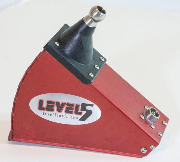 Level5 4-613 MEGA Finishing Set with extension handles zestaw z przedłużaczem do obróbki wykończeniowej płyt kartonowo gipsowych (Level 5)-38021
