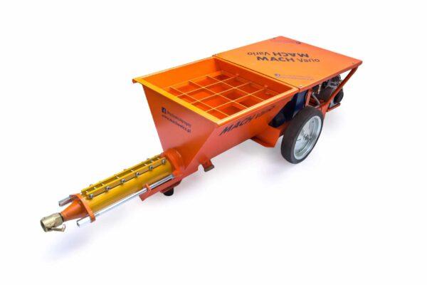 NOWOŚĆ ! MACH Vario bez kompresora Maszyna 2w1 Agregat Tynkarski + Pompa do betonu -37833