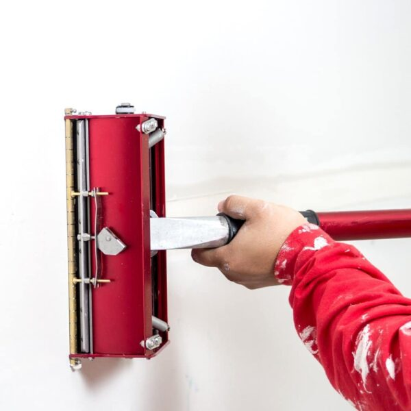 Level5 4-615 Tools MEGA Flat Box Combo Set with extension handle zestaw z przedłużaczem do obróbki wykończeniowej płyt kartonowo gipsowych (Level 5)-38107