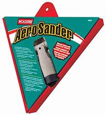 Wooster 1801 Aero Sander - Pad do szlifowania gładzi gipsowej-0