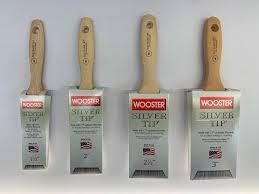 """Wooster 5222 Pędzel malarski do glazury skośny i do gładkich powierzchni Silver Tip 1,5""""-42100"""