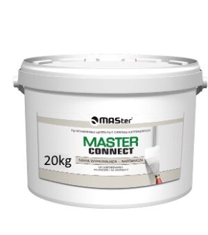 Gotowa gładź szpachlowa MASter CONNECT 20 kg wiaderko-0