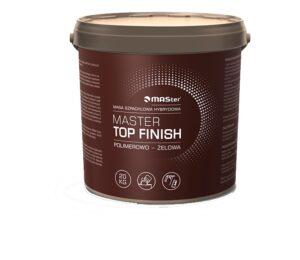 Gotowa gładź szpachlowa MASter TOP FINISH wiadro 20kg -0