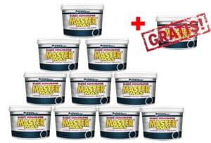 Gotowa gładź szpachlowa MASter MAS 10 opakowań 35 kg + GRATIS-0