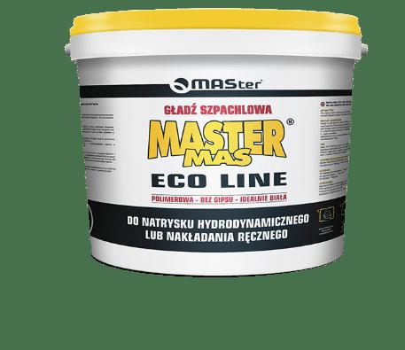 Gotowa gładź szpachlowa MASter MAS ECO LINE wiaderko 25 kg-0