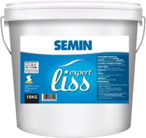 SEMIN EXPERT LISS Gotowa gładź szpachlowa do wnętrz 18 kg wiadro-0