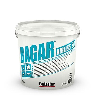 BEISSIER Bagar Airliss SG gotowa masa wyrównawczo szpachlowa 20kg wiadro-0