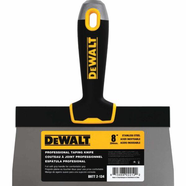 "DXTT 2-134 DeWALT Szpachelka Fasadowa uchwyt Soft Grip 8"" (20,32 cm) -0"