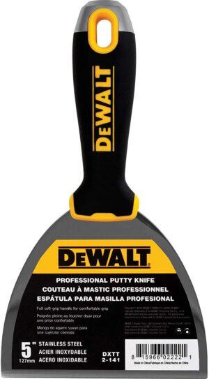 """DXTT 2-141 DeWALT Szpachelka Soft Grip 5"""" (12,7 cm)-0"""