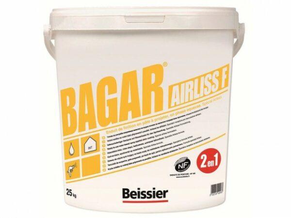 BEISSIER Bagar Airliss F gotowa masa finiszowa 25kg wiadro 1 Paleta 24szt (600kg)-42638