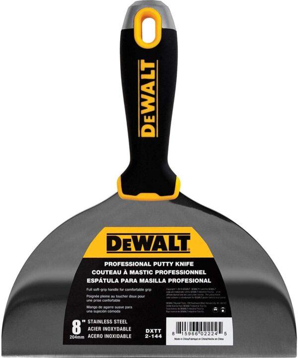 """DXTT 2-144 DeWALT Szpachelka Soft Grip 8"""" (17,78 cm)-0"""