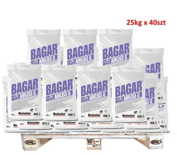 BEISSIER Bagar Airliss G gotowa masa szpachlowa 25kg worek 1 Paleta 40szt (1000kg)-0