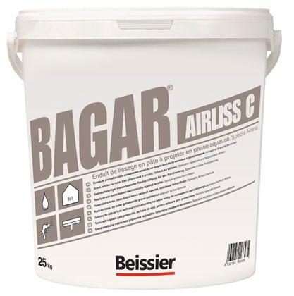 BAGAR AIRLISS C - masa szpachlowa wykończeniowa - 25kg wiadro 1 Paleta 24szt (600kg)-42688