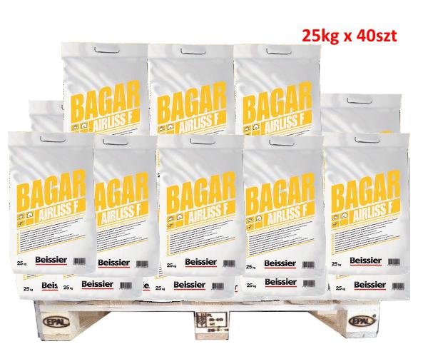 BEISSIER Bagar Airliss F gotowa masa finiszowa 25kg worek 1 Paleta 40szt (1000kg)-0