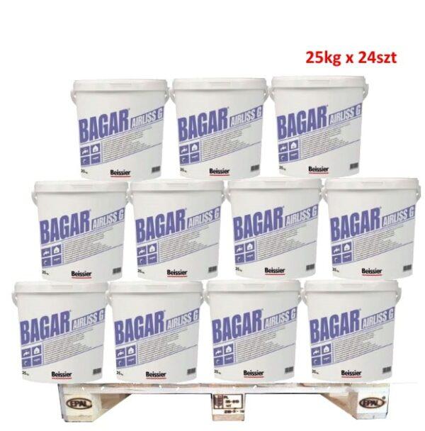 BEISSIER Bagar Airliss G gotowa masa szpachlowa 25kg wiadro 1 Paleta 24szt (600kg)-0