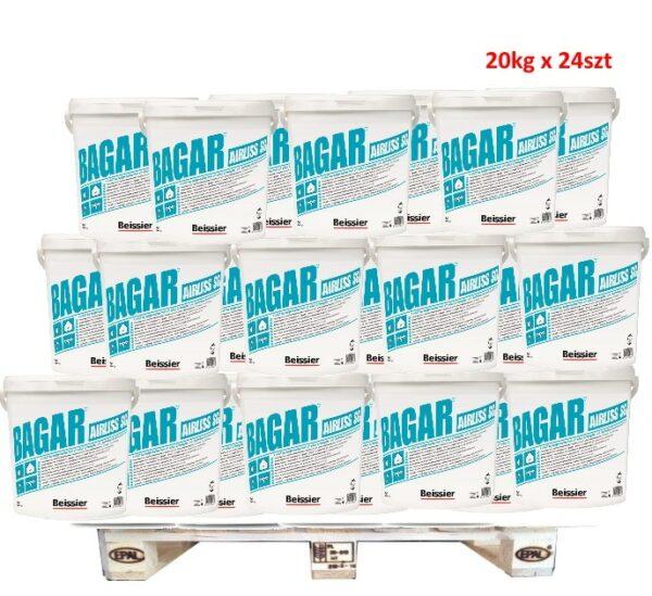 BEISSIER Bagar Airliss SG gotowa masa wyrównawczo szpachlowa 20kg wiadro 1 PALETA 20kg x 24szt (480)-0