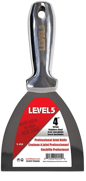 """5-404 LEVEL5 Szpachelka jednoczęściowa 4"""" (10,16 cm)-0"""