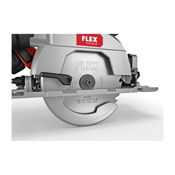 Flex 454.028 CS 62 18,0-EC / 5,0 SET Akumulatorowa bezszczotkowa tarczowa pilarka ręczna CS 62 SET-45177