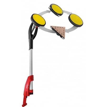 FLEX 494.496 + 444.146 GE7 MHX + S44 L AC Zestaw do szlifowania NOWA żyrafa + odkurzacz -44811