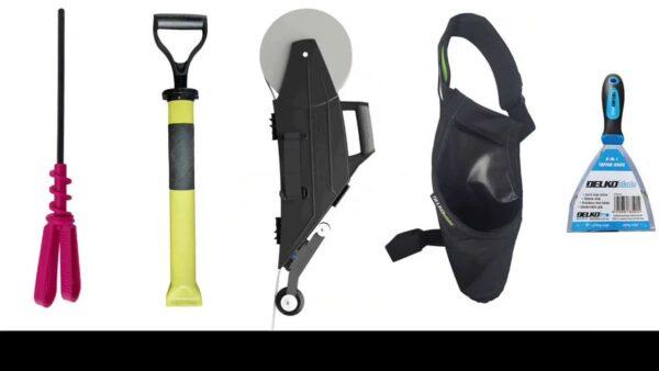 DELKO DT-PRO1 PRO PACK DELKO TOOLS Zestaw narzędzi DelkoTools dla profesjonalistów, zawiera wszystkie narzędzia, które usprawnią pracę przy suchej zabudowie.-43359