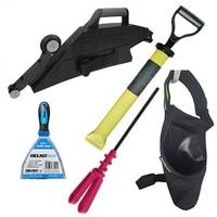 DELKO DT-PRO1 PRO PACK DELKO TOOLS Zestaw narzędzi DelkoTools dla profesjonalistów, zawiera wszystkie narzędzia, które usprawnią pracę przy suchej zabudowie.-0