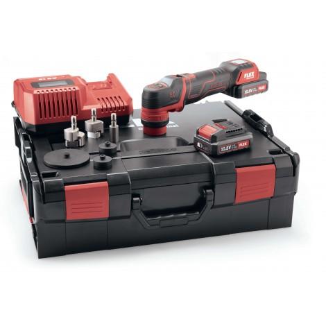 Flex 418.102 PXE 80 10,8-EC/2,5 SET Inteligentna polerka akumulatorowa 10,8V, głowica mimośrodowa i rotacyjna -0