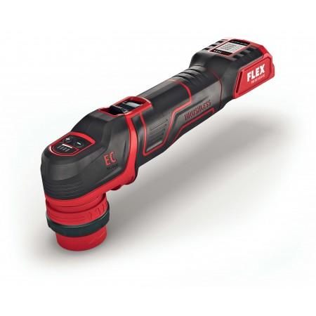 Flex 418.102 PXE 80 10,8-EC/2,5 SET Inteligentna polerka akumulatorowa 10,8V, głowica mimośrodowa i rotacyjna -45020