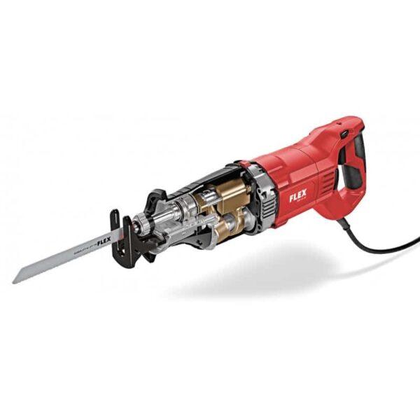 Flex 438.367 RSP 13-32 piła szablasta 1300 watt o zmiennej prędkości z regulacją kąta nachylenia brzeszczotu -45031