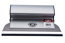 OLEJNIK Aluminiowa szpachelka do gładzi 25 cm, grubość blachy 0,5 mm 1239250G5-0