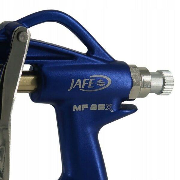 Jafe MP8GX profesjonalny pistolet grawitacyjny do tapet natryskowych, tynków elewacyjnych, mas szpachlowych it.-45281