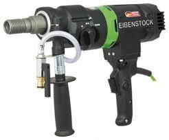 03E31000 Eibenstock Wiertnica ręczna ETN 162/3 w komplecie złączki do podłączenia wody i odciągu pyłów 2200W-45480
