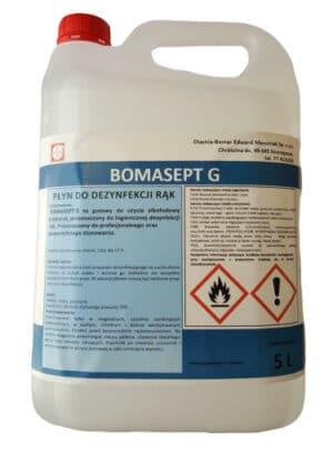 BOMASEPT G preparat do dezynfekcji rąk 5L-0