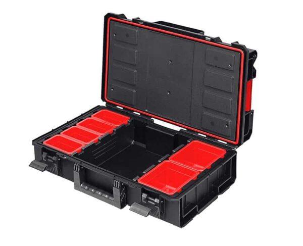 QBRICK SYSTEM ONE 200 PROFI skrzynia narzędziowa, modułowa do łączenia z innymi skrzynkami z serii One. SKRQ200PCZAPG001-46002